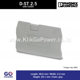 END COVER D-ST 2,5