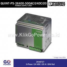 Power Supply Unit QUINT-PS-3x400-500AC/24DC/20