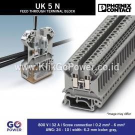 Feed-through terminal block - UK 5 N