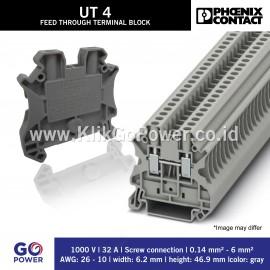 Feed-through terminal block - UT 4