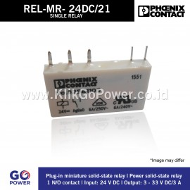 SINGLE RELAY REL-MR- 24DC/21
