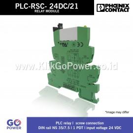 RELAY MODULE PLC-RSC - 24DC/21