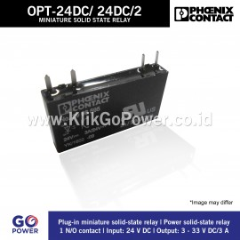 MINIATURE SOLID-STATE RELAY OPT-24DC/ 24DC/ 2